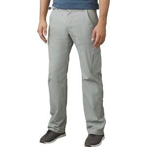 Prana Grey Stretch Zion Pants
